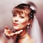 Керчанка. В августе - еще невеста.  Фото из архива Телицян