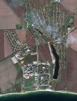 Cпутниковый снимок города Южный и села Cычавка